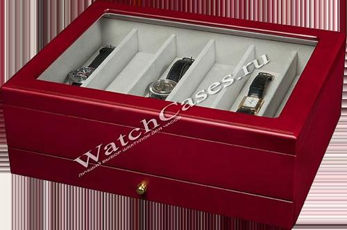 51ab9a752307 Деревянная шкатулка для хранения наручных часов и украшений