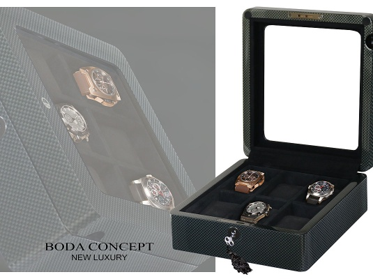 Шкатулка для хранения 6-ти часов Watch-Box6CF 850_600_27360